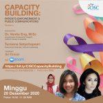 Capacity Building: Patients Empowerment & Public Communications